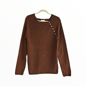 Top Shop Ribbed  Boatneck Sweater